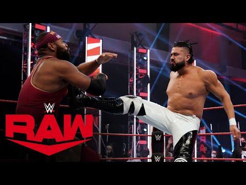 Angelo Dawkins vs. Andrade: Raw, Aug. 10, 2020