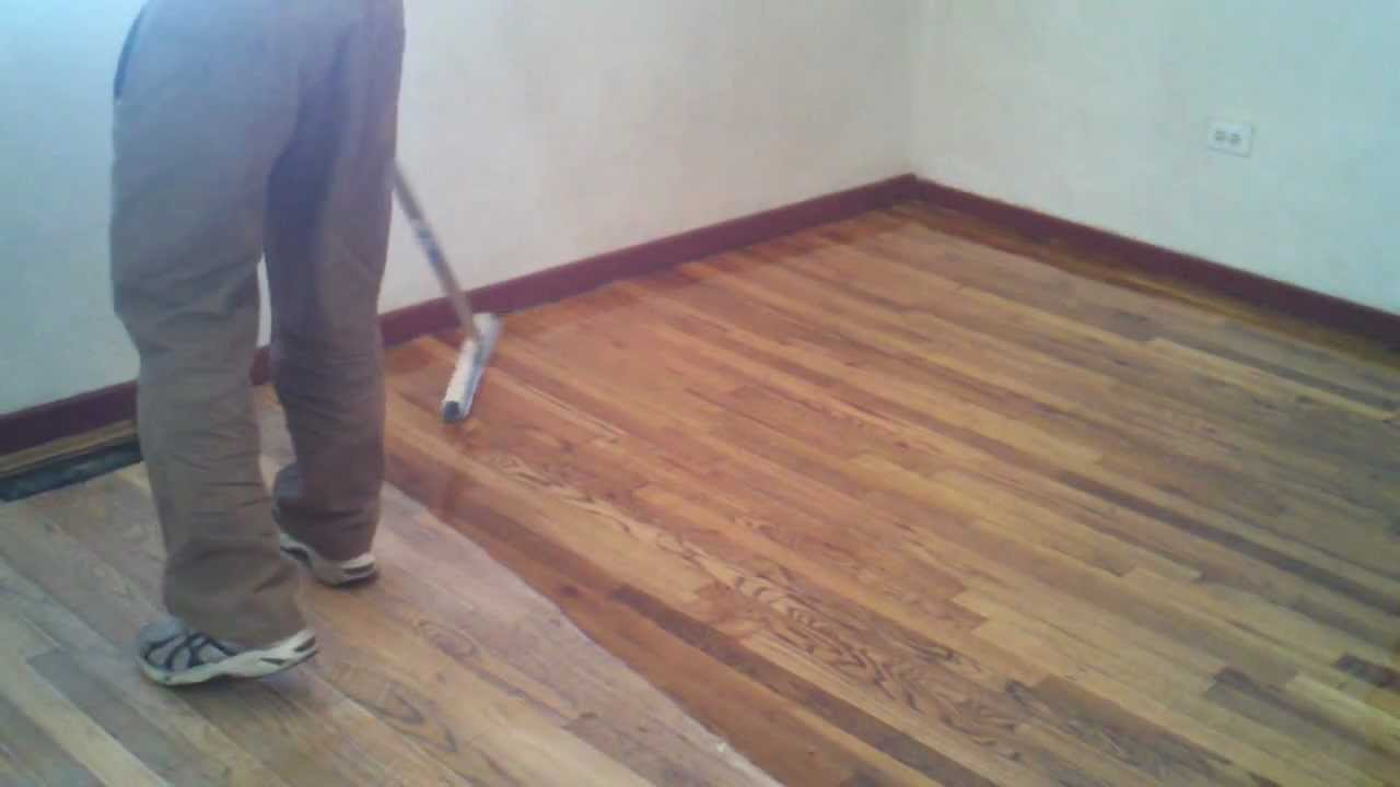 Wood Flooring Refinishing In Glendale, Avondale, Arizona Hardwood Floor  Screening U0026 Recoating   YouTube