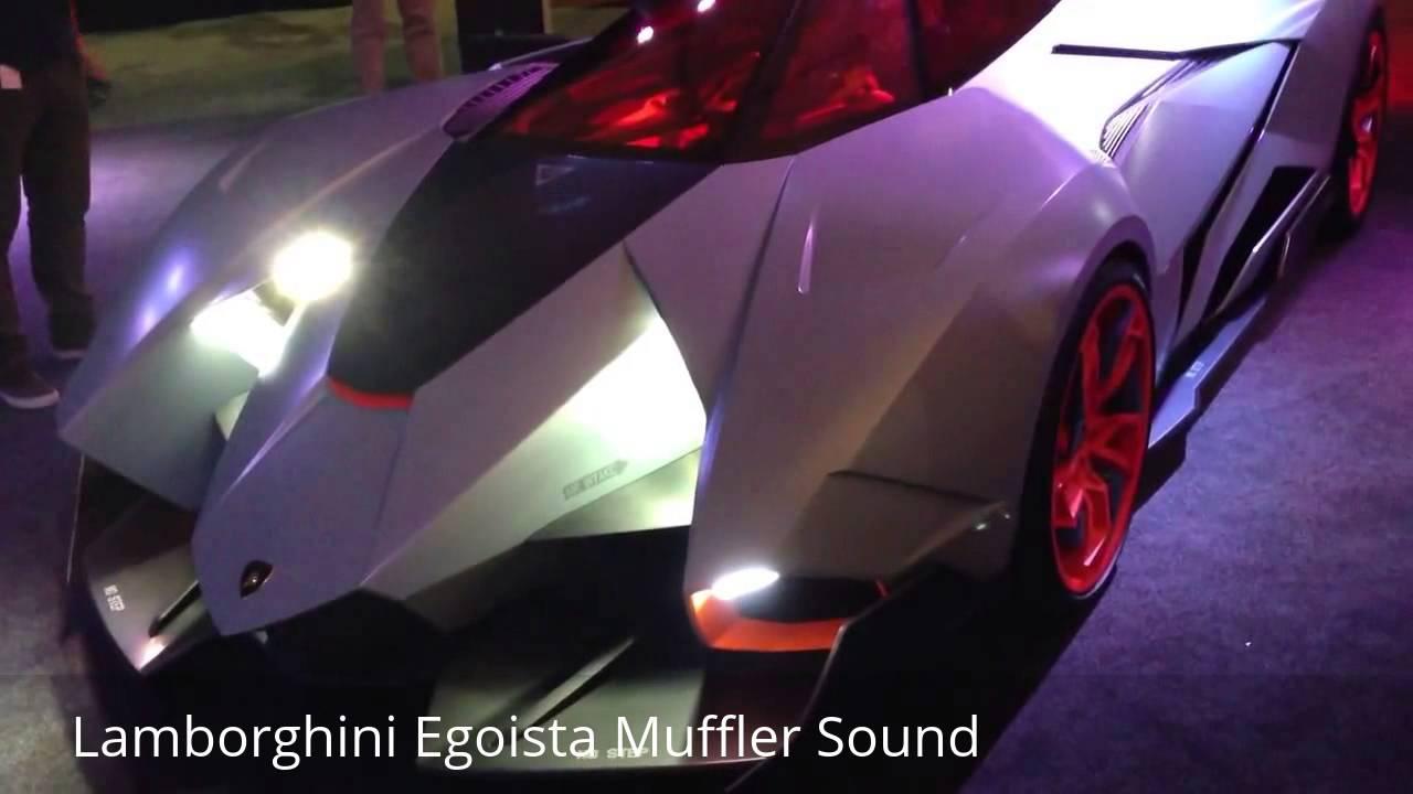 Lamborghini Egoista ON FIRE And Throttle