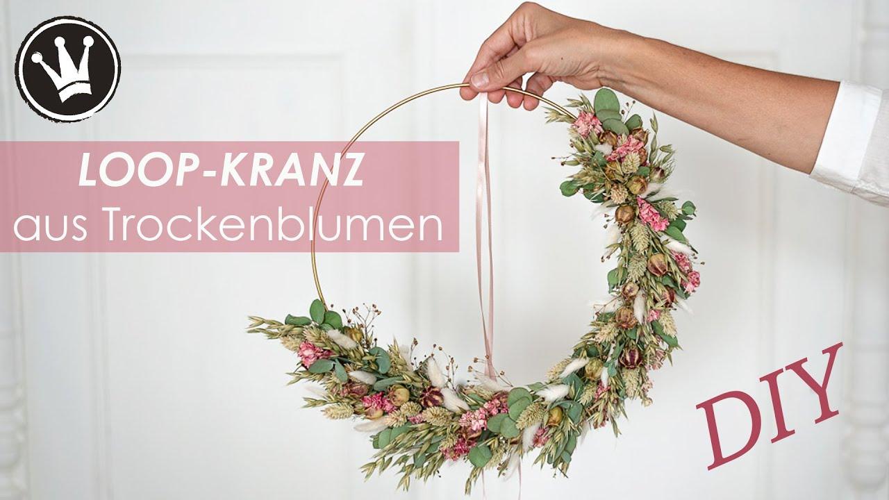 DIY H\u00e4kel-Anleitung f\u00fcr T\u00fcrkranz  Dekokranz  Weihnachtskranz