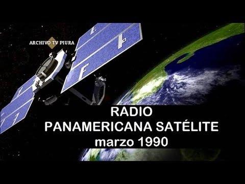 RADIO PANAMERICANA –1990 ( Primera Radio FM Vía Satélite )