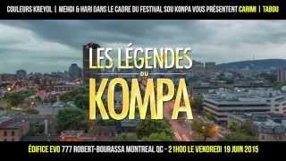 Tabou Combo et Carimi en concert à Montréal le 19 juin 2015