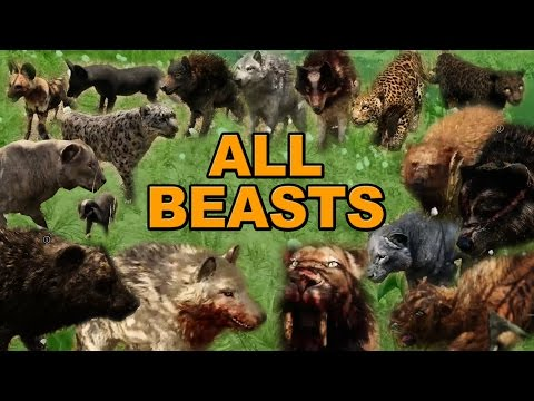 Far Cry Primal Beast Master Guide All Animal Locations And How