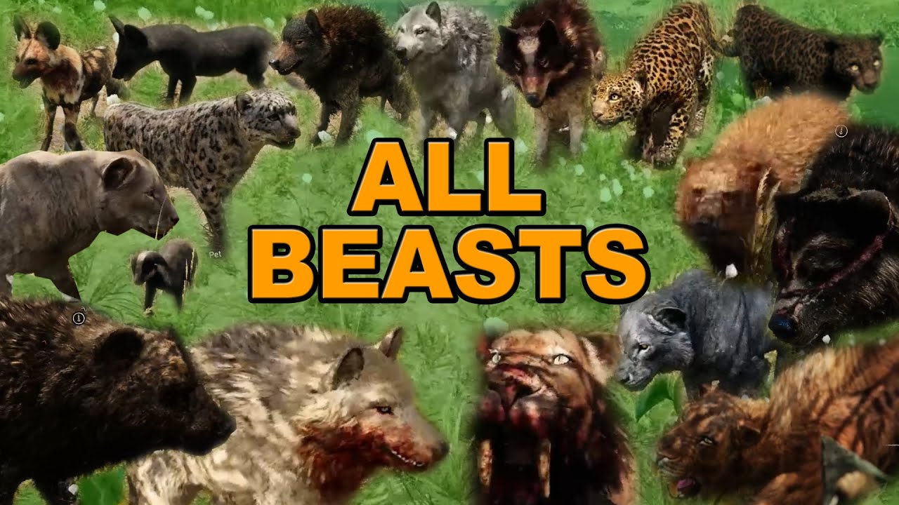 Far cry primal beast master guide all animal locations and how far cry primal beast master guide all animal locations and how to tame and use your pet beasts youtube gumiabroncs Choice Image