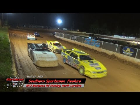 """East Lincoln Speedway """"Southern Sportsman"""" April 20, 2019"""