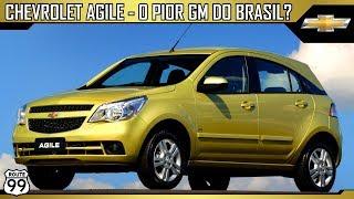 O pior Chevrolet j vendido no Brasil Chevrolet Agile Canal Route 99