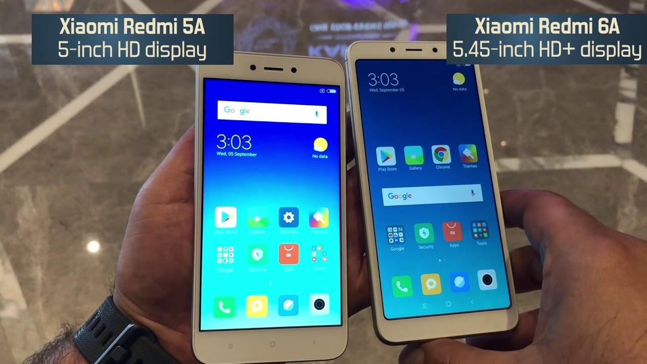 Xiaomi Redmi 6A vs Xiaomi Redmi 5A: Comparison overview [Hindi हिन्दी]