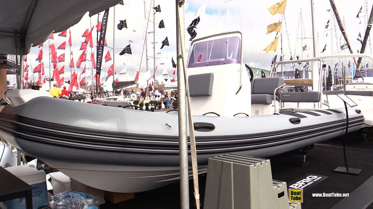 2017 Brig Navigator 610 H Inflatable Boat - Walkaround - 2016 ...