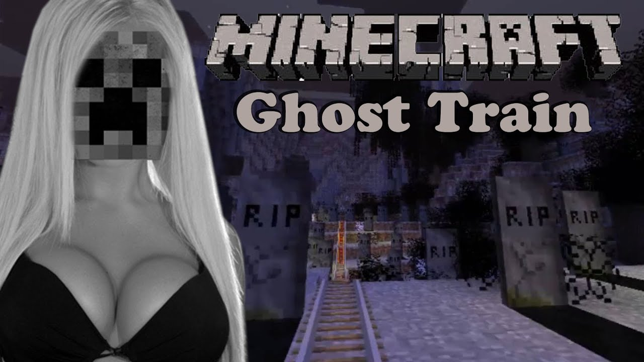 Minecraft Ghost Train Halloween Minecart Youtube