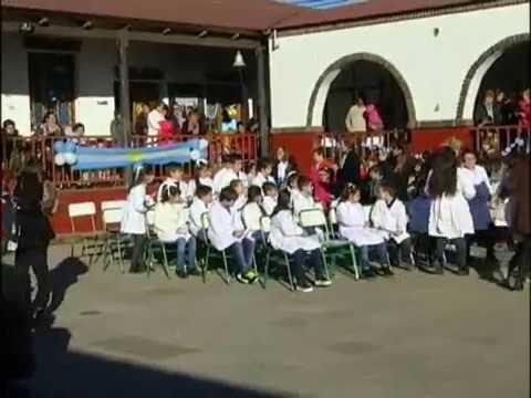 Acto por el Día de la Bandera en la escuela Maestro Entrerriano