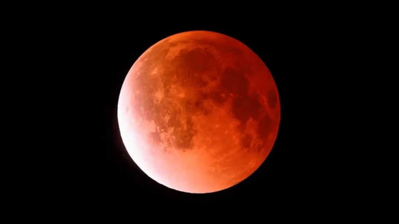 Hd Lunar Eclipse 2014 04 15 Youtube
