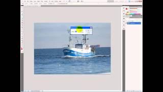 Adobe Photoshop - Ruler Tool - Ret horisonten i dit billede