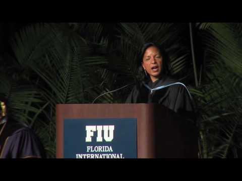 Ambassador Susan Rice Delivers Commencement Address at FIU