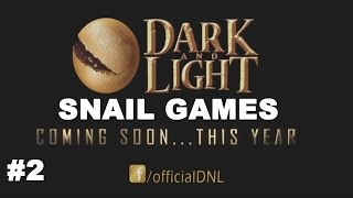 DARK AND LIGHT MMO SANDBOX 2016 HISTÓRIA DA SNAIL GAMES 11/08/16