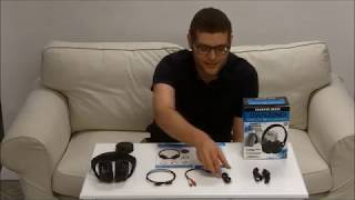 Own Zone Wireless Headphones - Installation using the RCA Cable