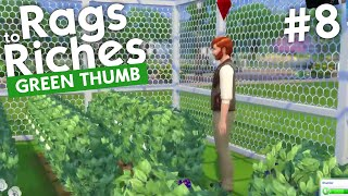 The Sims 4 - Rags to Riches: Green Thumb (Part 8)