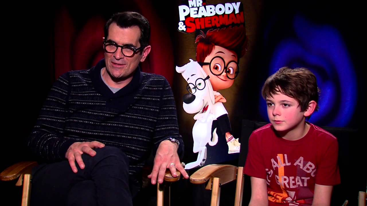 Mr. Peabody & Sherman: Ty Burrell & Max Charles Official ...