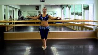 Он-лайн уроки танца живота: Baladi (часть 4 спиной)