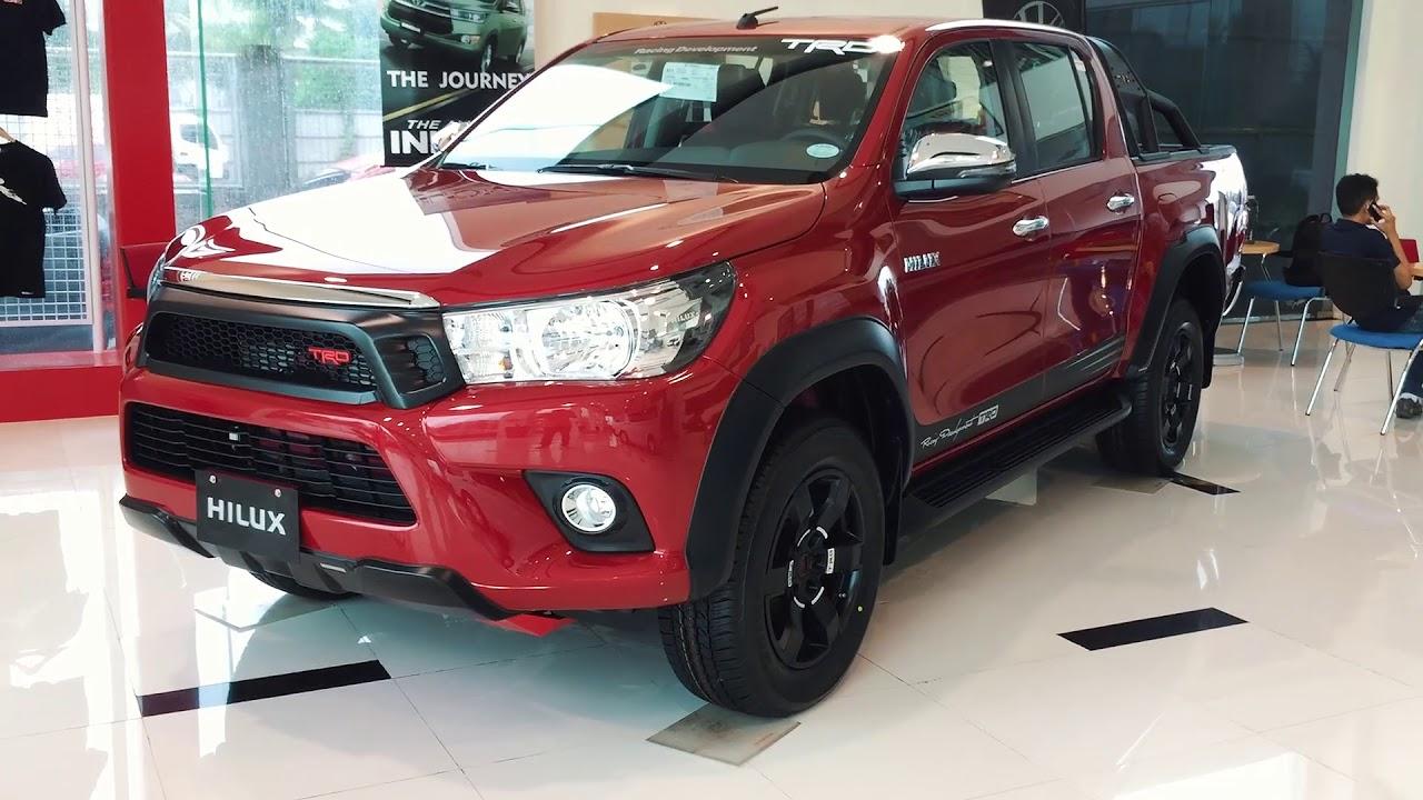Toyota Hilux 2 4 TRD 4x4 Diesel MT 2018 Quick Walkaround