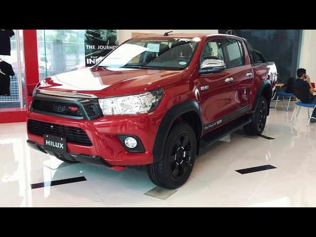 Toyota Hilux 2.4 TRD 4x4 Diesel MT 2018 Quick Walkaround