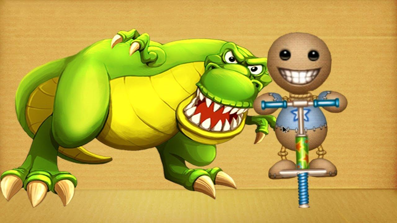 Dinosaurs vs The Buddy Popo Stink | Kick The Buddy 2020