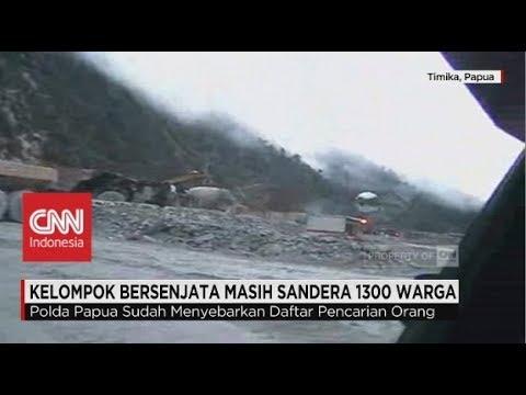 Kelompok Bersenjata Masih Sandera 1300 Warga di Papua