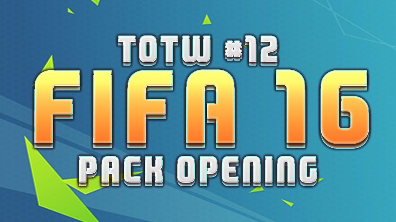 TOTW #12 - FIFA 16 ULTIMATE TEAM