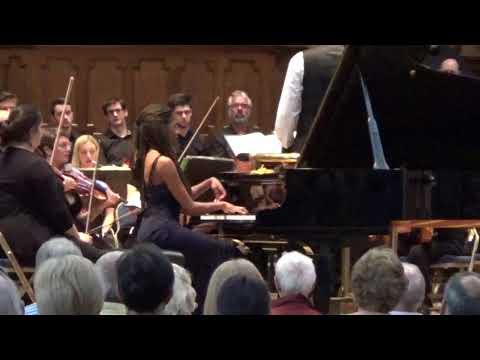 Isata Kanneh-Mason play Rachmaninov Piano Concerto no 2 with English Pro Musica
