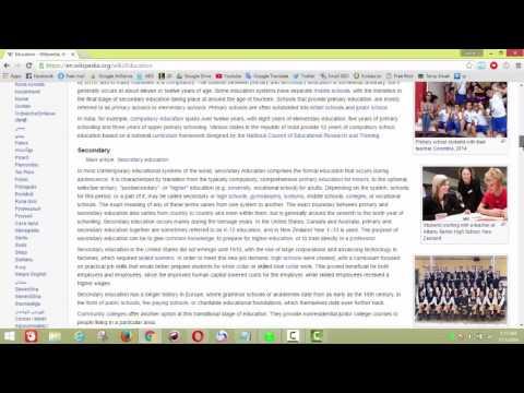 Education   Wikipedia, the free encyclopedia