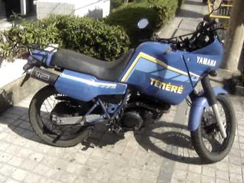 Vendo Ténéré Moto Yamaha Xt 600 Z Tenere 1991 Azul R 8 600 00 Youtube