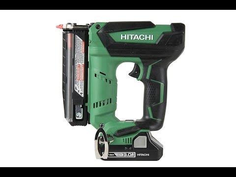 Hitachi NP18DSAL 23-Gauge Cordless Pin Nailer Review