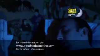 Good Night Anti Snoring Ring TV Advert