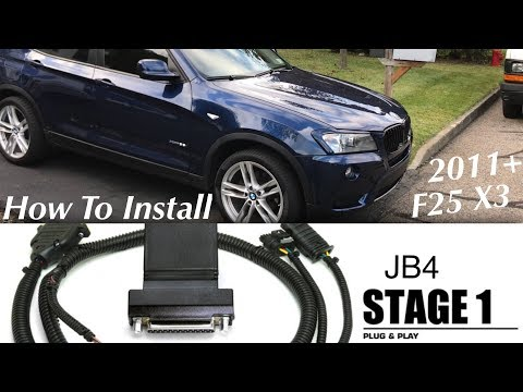 How To Install JB4 Stage 1 - 2011+ F25 X3