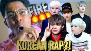 FIRST REACTION TO KOREAN RAP/HIP HOP