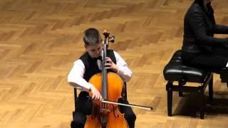 CELLO.Popper.Polonaise op.14.Kozub Sebastian (11years)