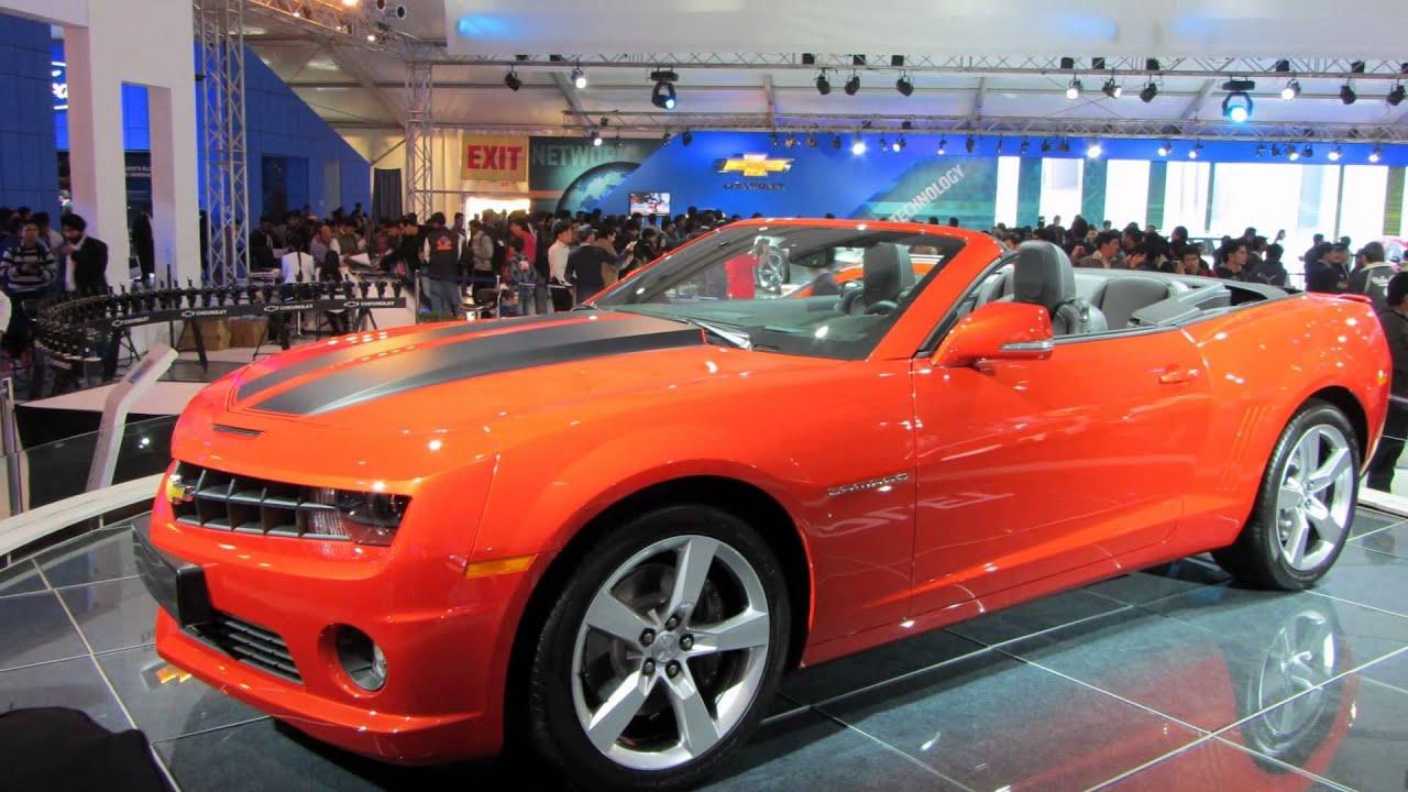 Chevrolet Camaro At Dlhi Auto Expo - YouTube