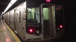 【アメリカ】 ニューヨーク地下鉄 C系統 86丁目駅 New York City Subway C train 86th Street Station (2016.4)