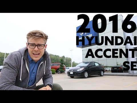2016 Hyundai Accent SE The Perfect Commuter
