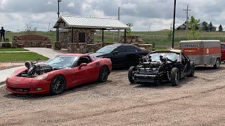 Storm Chasing In a 1400hp Corvette! Vlog 3 RmRw