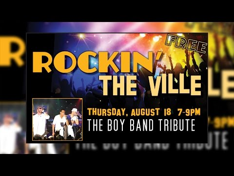 Rockin the Ville 2016 - The Boy Band Night