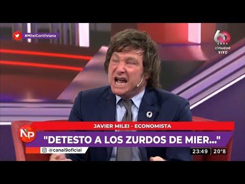 """""""Soy provida y el papa es un imbécil"""" Javier Milei con Viviana Canosa- 10/11/20"""