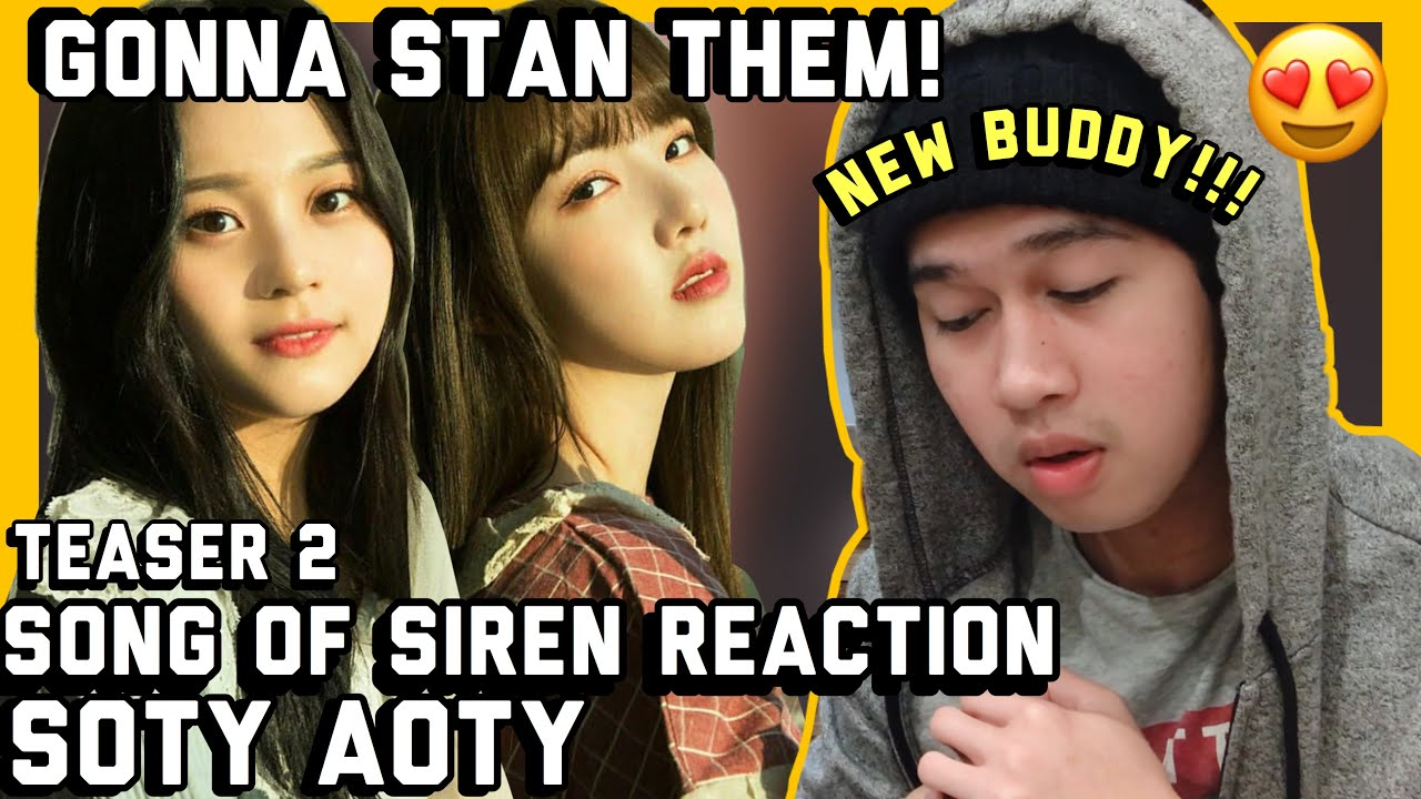 NEW BUDDY to GFRIEND 'Apple' M/V Teaser 2 REACTION (Song Of Sirens Medley)