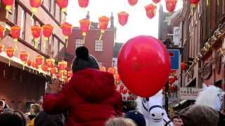 Passing Through London - Chinese New Year Parade 2014