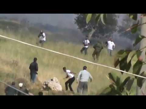 An Israeli settler kills a Palestinian 2