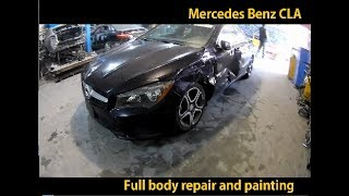Mercedes Benz Armaniston/o'zbekistonda CLA avto Tana do'konlari, Armaniston Tana ta'mirlash