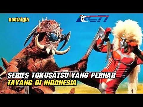 Download Seri Tokusatsu yang Pernah Tayang di Indonesia