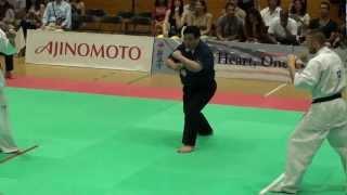 Kyokushin All American Open 2012: J.Grenouillet vs M.Chikh