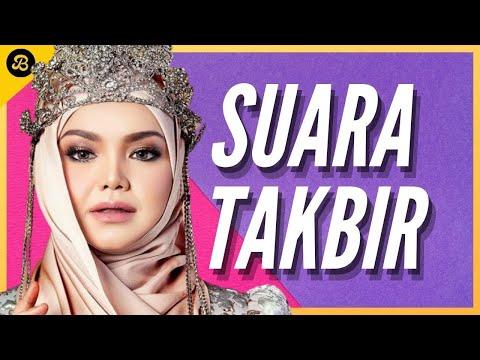 Siti Nurhaliza menyanyi Lagu Suara Takbir di Rumah Terbuka Media Prima 2009