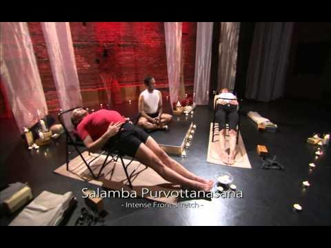 Iyengar Yoga Immune System Exercise