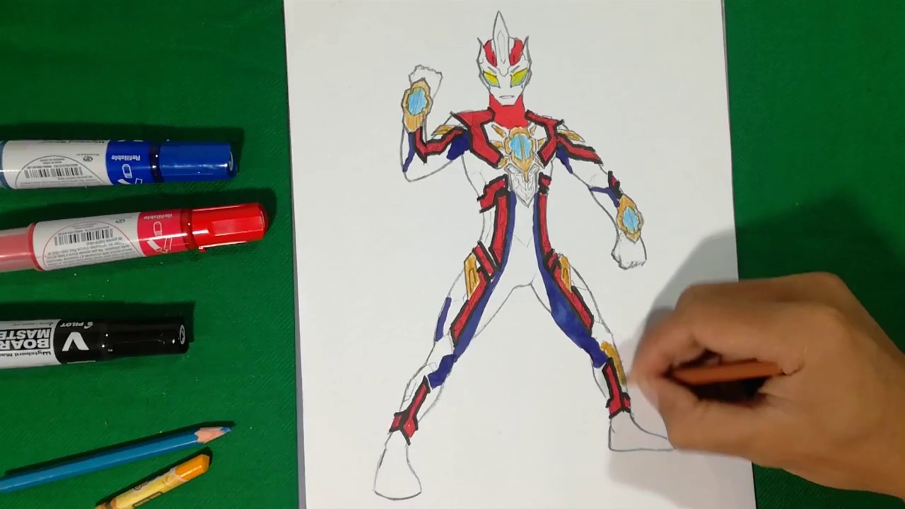 Unknown Ultraman Showing Coloring Pages SAILANY Kids